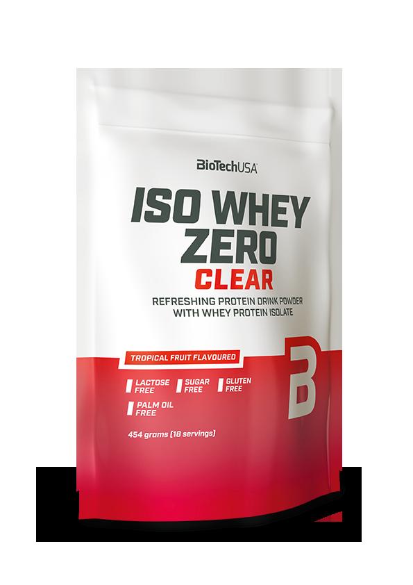 BioTech USA Iso Whey Zero Clear 0,454 kg