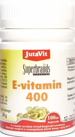 JutaVit Vitamin E 100 caps