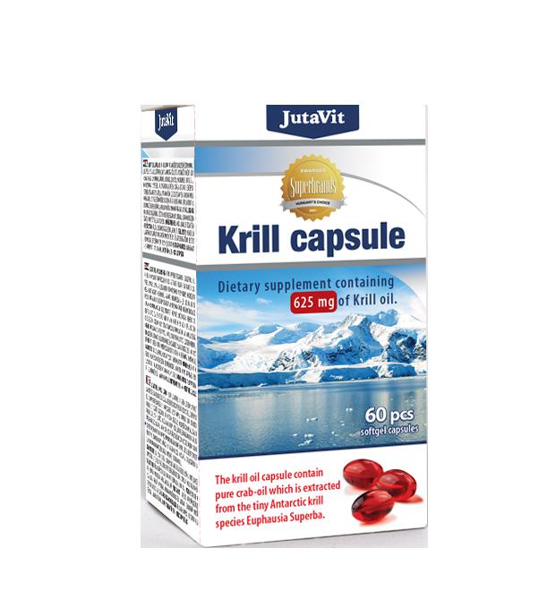 JutaVit Krill oil 60 g.c.